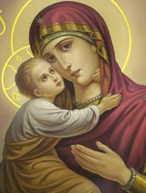 ...к Храму, не накрасив глаз Чтобы в храме раствориться средь толпы людей Божьей Матери молиться о судьбе детей.