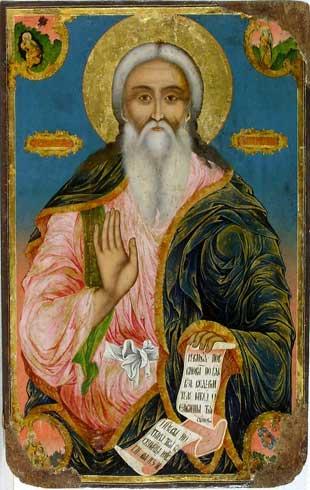 пророк Илья икона