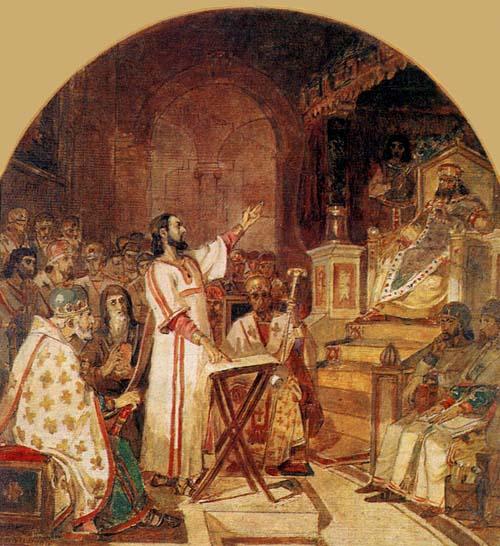 В. Суриков. Первый Вселенский собор