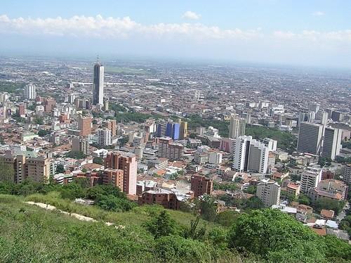 Панорама города Кали