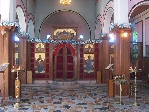 Внутреннее убранство Успенского собора