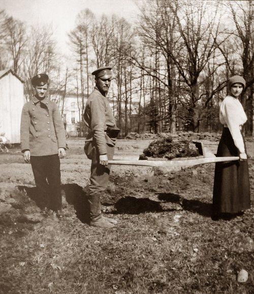 Царское Село, 1917