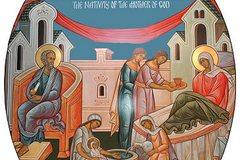 Рождается будущая Богородица