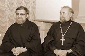 Диакон Алексий Шишов, протоиерей Александр Степанов