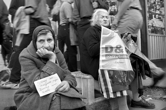 1998 г., сразу после дефолта. Фото: Александр Петросян  photopolygon.com/user/112