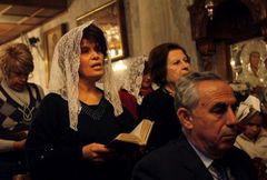 А вы знаете, что мать святого Георгия была палестинкой?