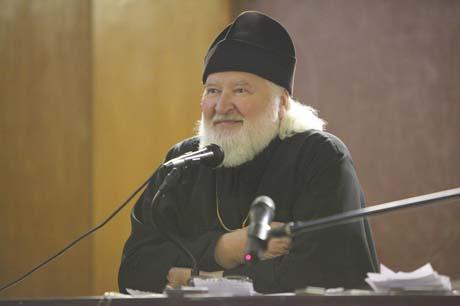 Отец Владимир Воробьев. Фото Екатерины Степановой