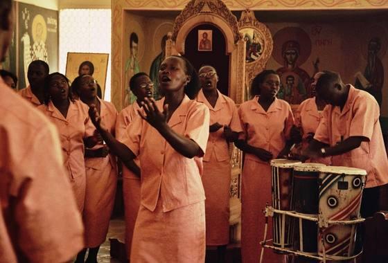 Концерт православной музыки в церкви при семинарии, Кения. Фото orthphoto.net