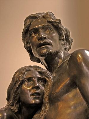Адам и Ева. Ливерпуль, Великобритания.