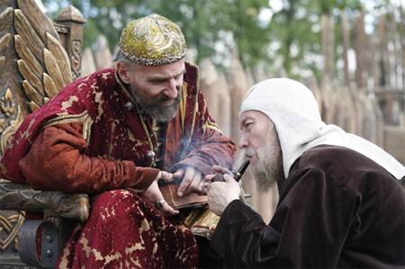 Петр Мамонов и Олег Янковский