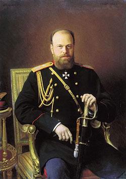 И. Крамской. Портрет императора Александра III