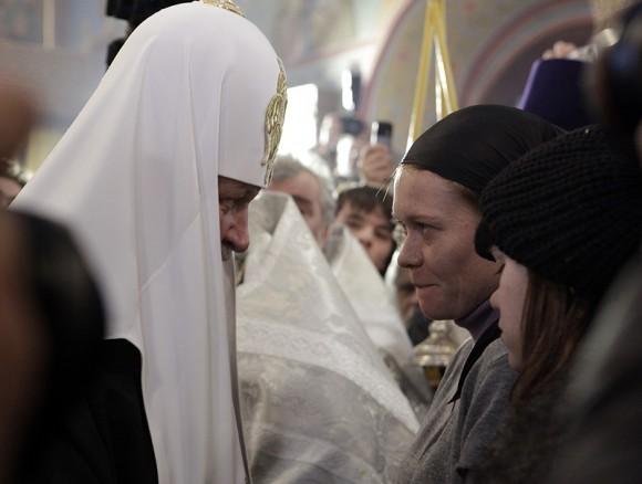 Слово утешения от Святейшего Патриарха. Фото patriarchia.ru