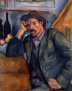 """Поль Сезанн """"Курильщик"""". 1890-1892"""