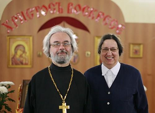 Протоиерей Александр и матушка Мария Ильяшенко. Фото Анатолия Данилова