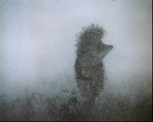 """Кадр из мультфильма """"Ежик в тумане"""""""