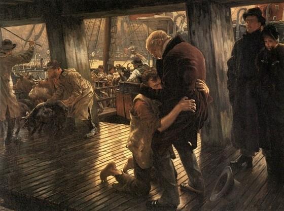 Дж. Тиссо. Современный блудный сын. Возвращение. 1882