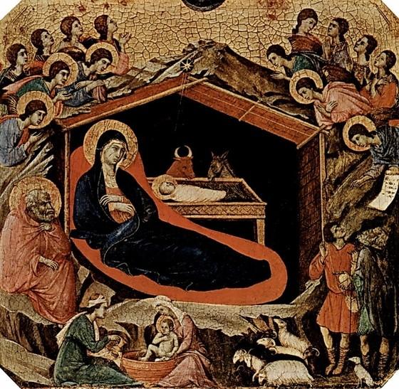 Рождество Христово. Дуччо ди Буонинсенья.