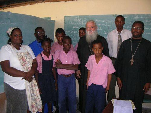 Приходская школа отца Грегуара на Гаити