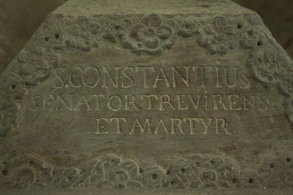Святой Констанций. Сенатор Трирский и мученик