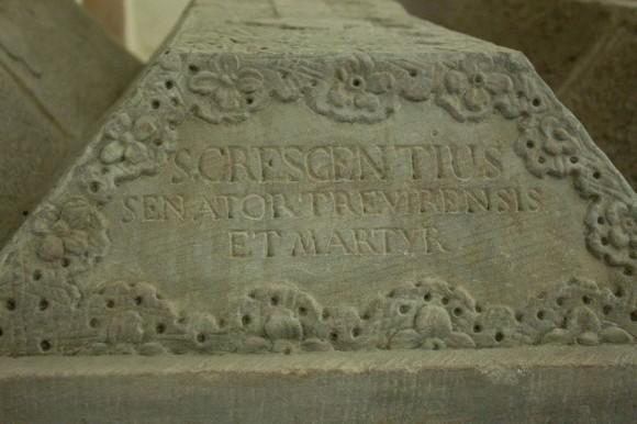 Святой Кресентий. Сенатор Трирский и мученик