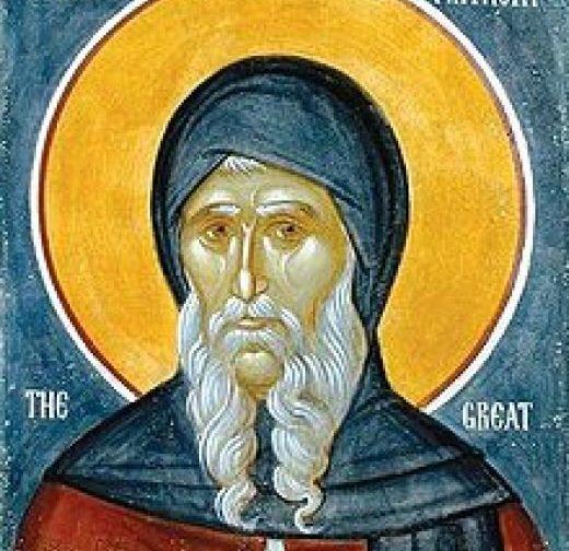 Преподобный Антоний Великий: житие, икона, молитва