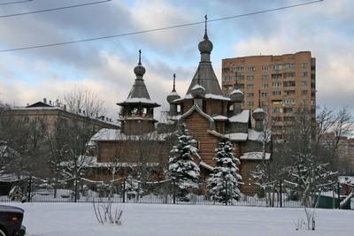 Храм св. Георгия Победоносца в Коптеве