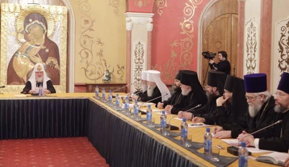 Заседание Межсоборного присутствия. Фото: Патриархия.ру