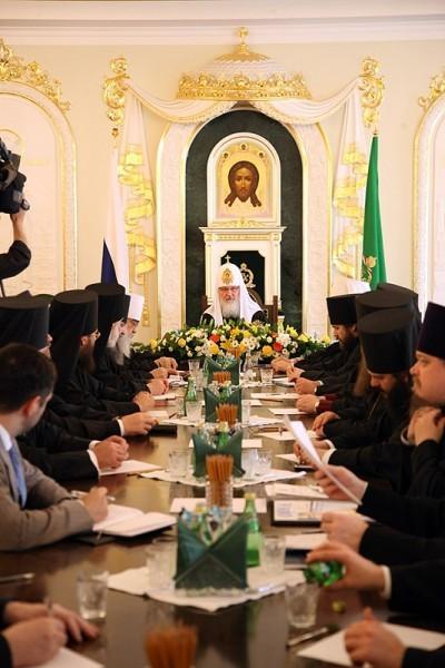 Заседание Президиума Межсоборного присутствия. Фото: Патриархия.ру