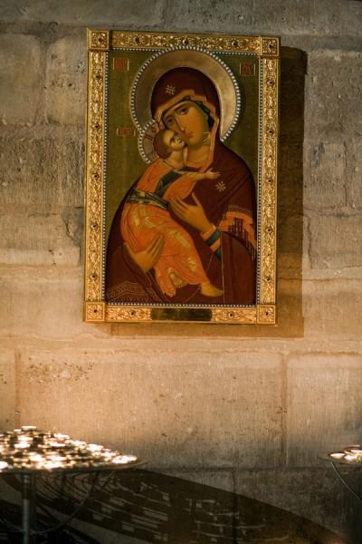 Владимирская икона - подарок Святейшего Патриарха Алексия II