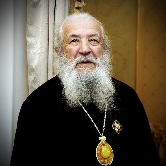 Митрополит Лавр. Фото священника Максима Массалитина