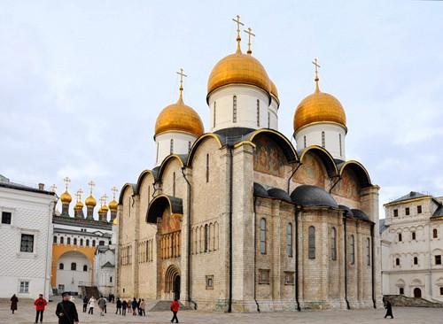 Собор Успения Пресвятой Богородицы Московского Кремля.