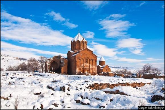 Гурен Бахшитсян. Шедевр армянского зодчества. Источник: photosight.ru