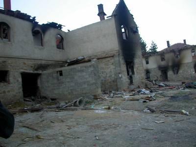 Руины монастыря Девич