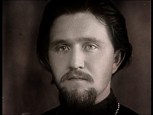 Протоиерей Александр Егоров в молодости