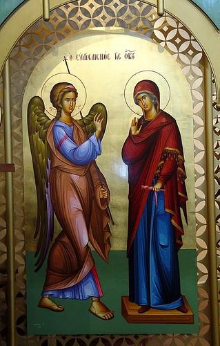 Благовещение Пресвятой Богородицы. Архангел Гавриил