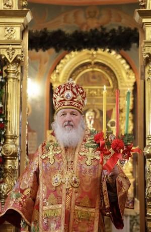 Патриарх Кирилл. фото Патриархия.ру