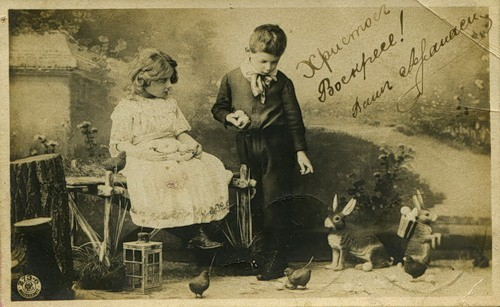 Пасхальные открытки (7)