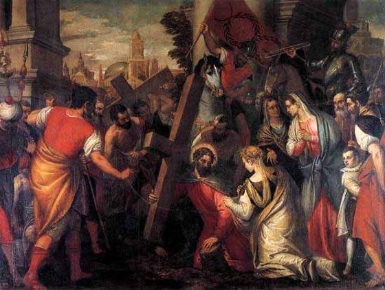 Крестный путь. Карло Кальяри. 1580г