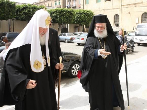 Визит Патриарха Кирилла в Александрийскую Православную Церковь. Фото: Патриархия.ру