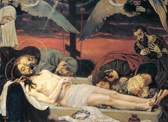 В. А. Васнецов. Положение во Гроб