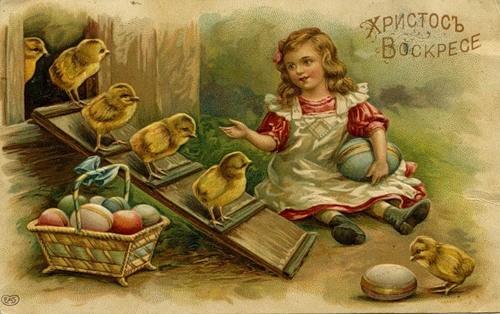Пасхальные открытки (9)