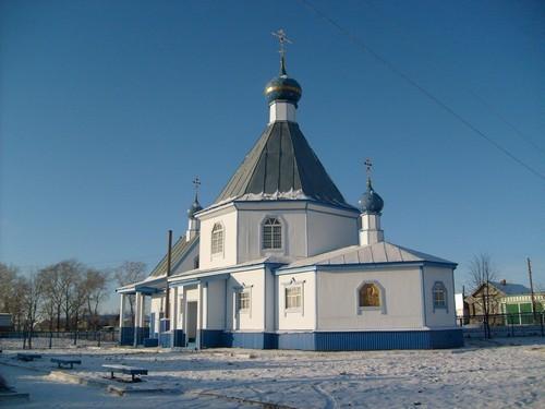Храм свт. Николая в с. Янтиково
