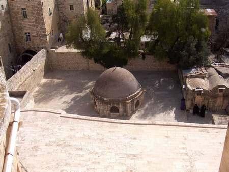Крыши Христианского квартала Старого города Иерусалима