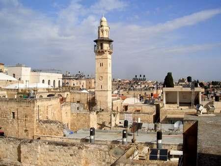 Крыши и небо Иерусалима