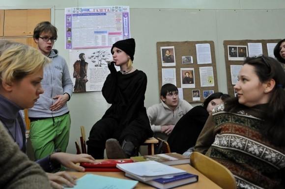 """Валерия Гай Германика на съемках """"Школы"""""""