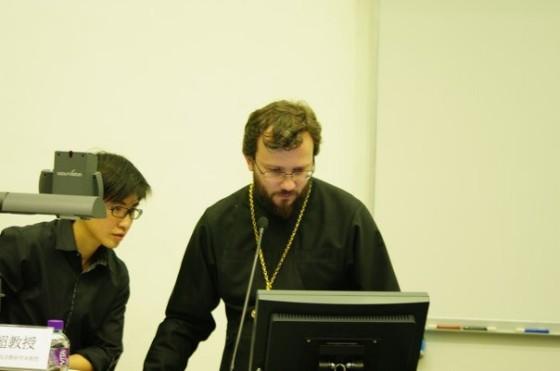 На лекции в Гонконге