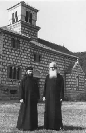 С епископом Рашско-Призренским и Косовско-Метохийским Артемием, 1967