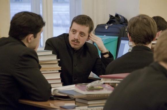 Московская Духовная семинария, часы самоподготовки. Фото: Д. Гораш mpda.ru