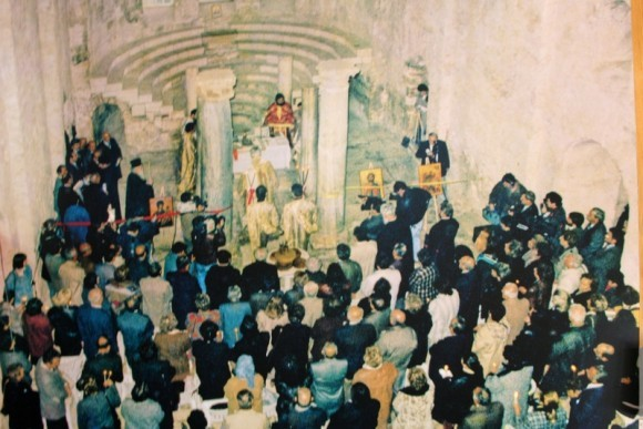 Литургия в храме святителя Николая