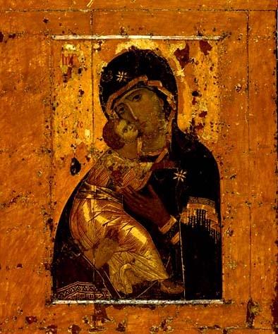 I треть XII в. Владимирская икона Божией Матери